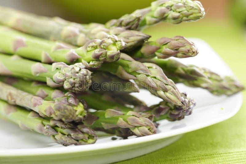 Groene asperge stock afbeelding