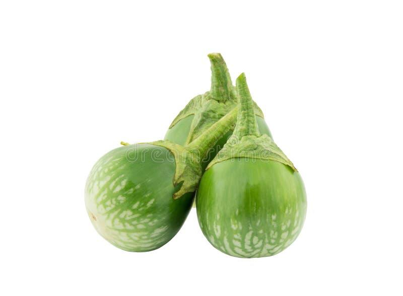 Groene aubergine stock foto