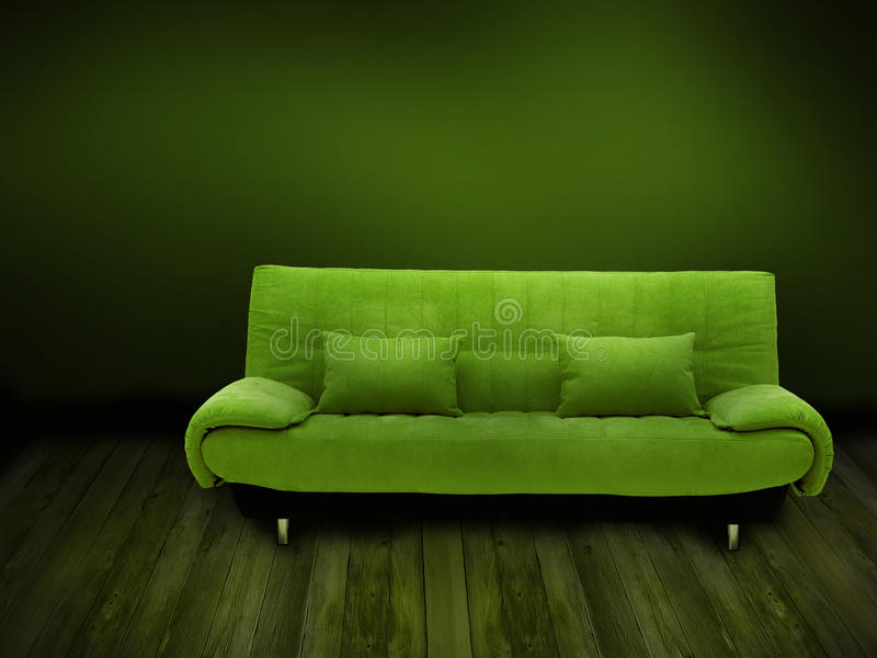 Groene bank stock foto's
