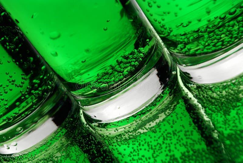 Groene bellen royalty-vrije stock afbeeldingen