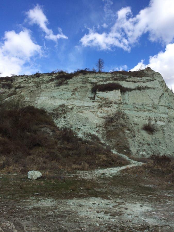 Groene berg stock foto's