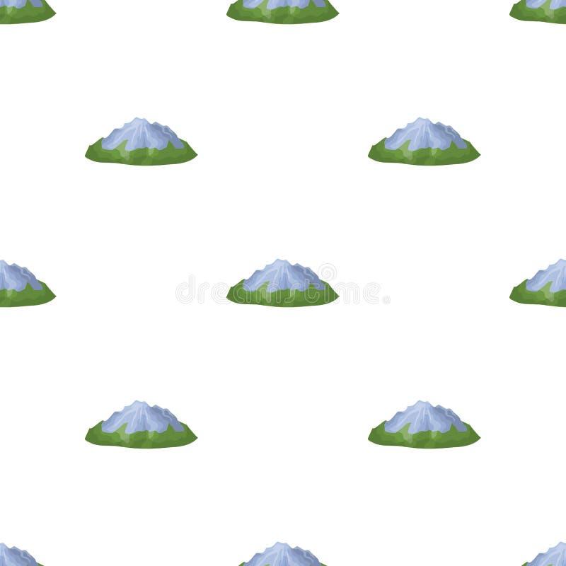 Groene bergen stock illustratie