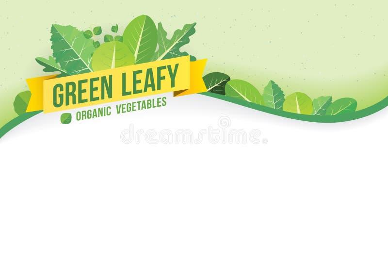 Groene blad vector illustratie