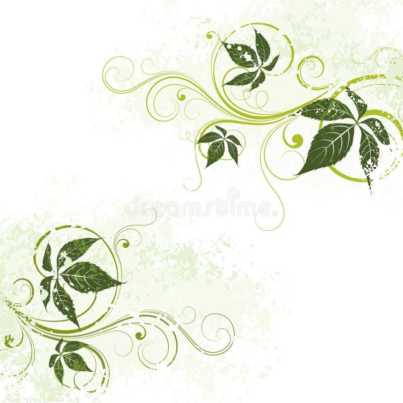 Download Groene BloemenAchtergrond vector illustratie. Illustratie bestaande uit samenvatting - 10777297