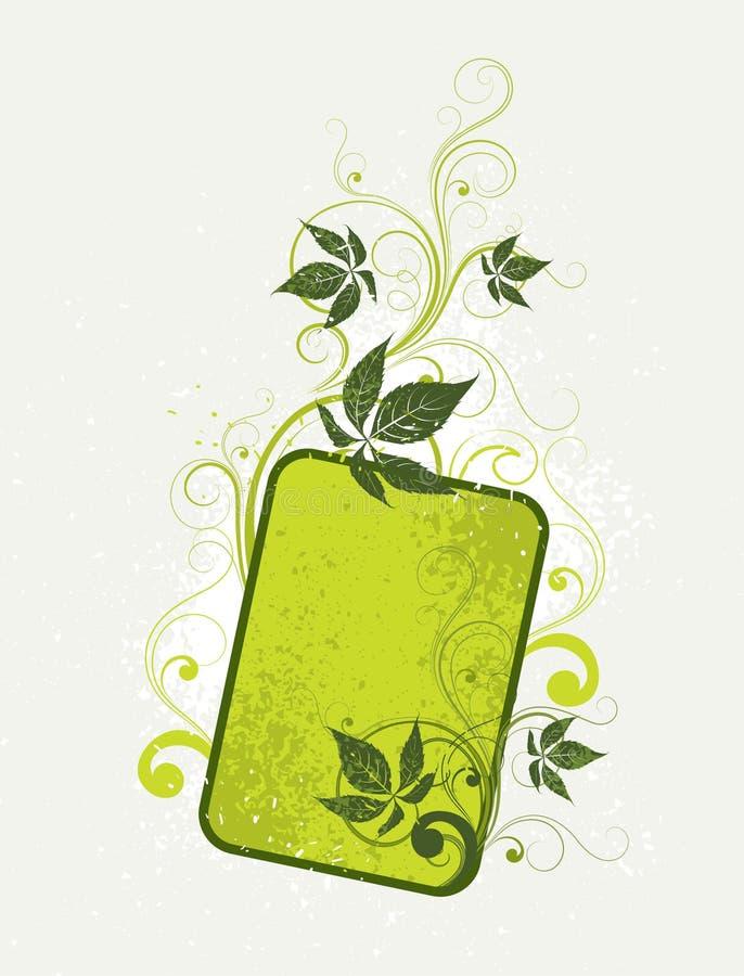 Download Groene bloemenmarkering vector illustratie. Illustratie bestaande uit illustratie - 10777354