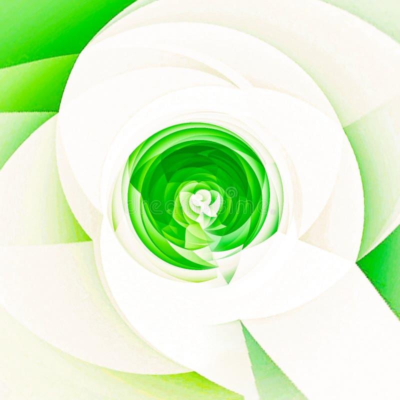 groene bloemgrafiek vector illustratie