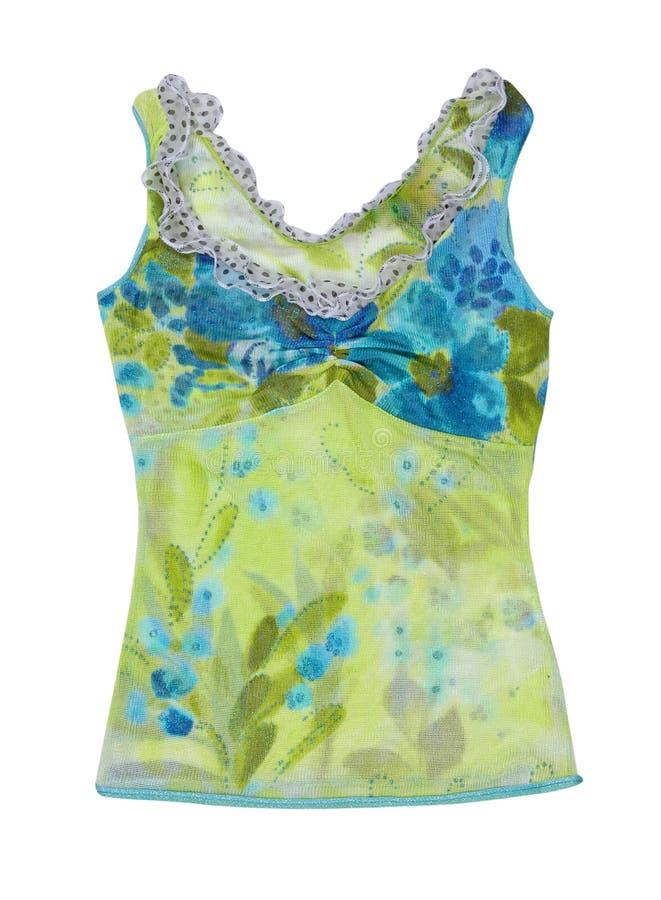 Groene blouse stock foto's