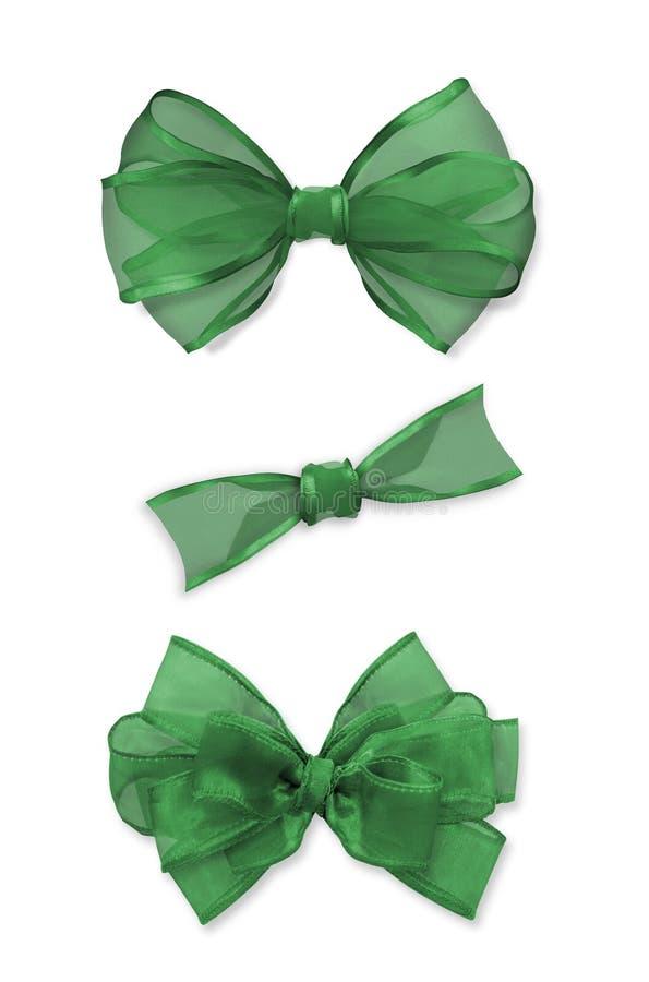 Groene Bogen stock fotografie