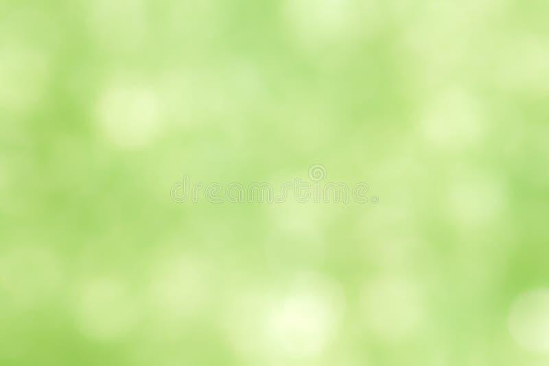 Groene bokeh abstracte lichte achtergrond/de lichte achtergrond van de Kunstkleur bokeh Abstract kunstontwerp voor lichte textuur royalty-vrije stock foto's