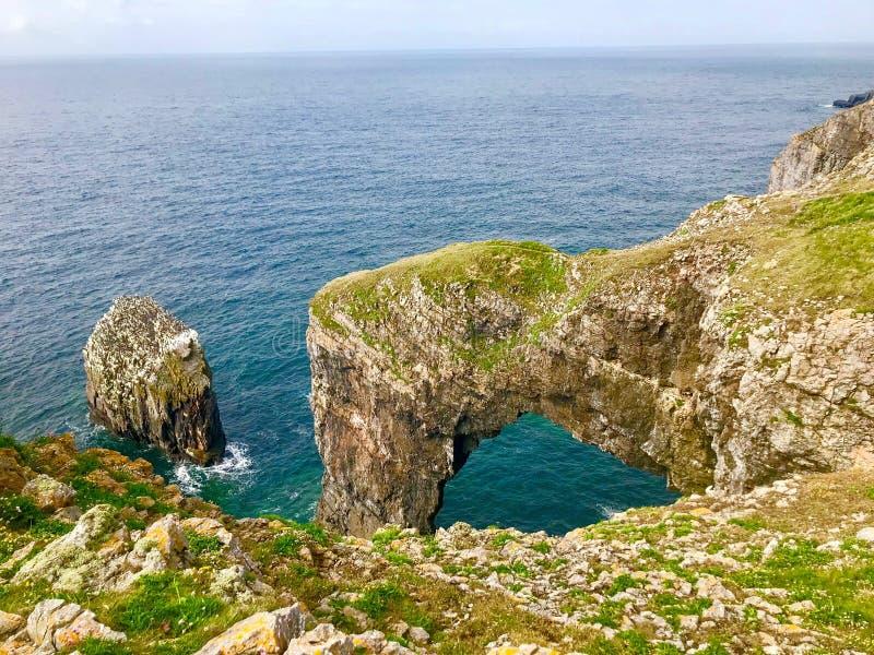 Groene Brug van Wales stock foto