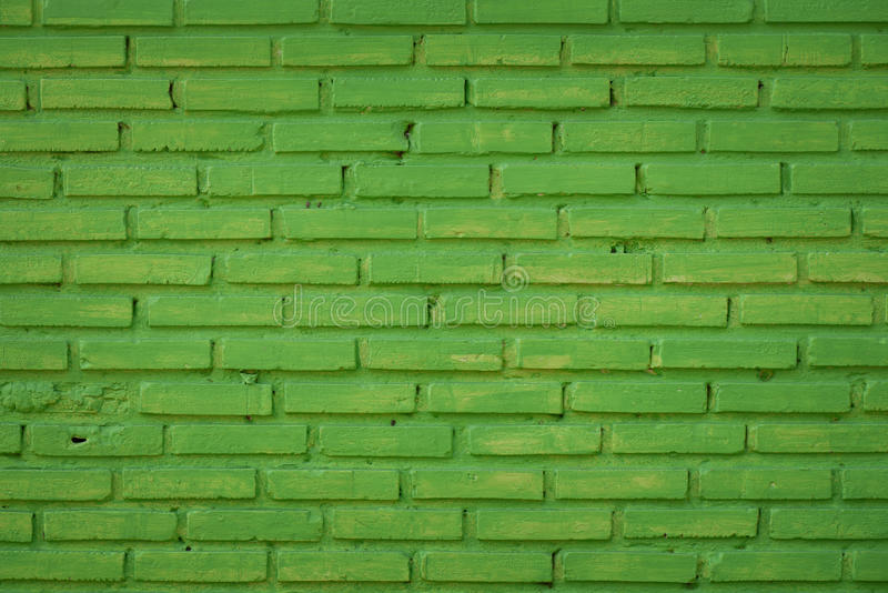 Groene concrete muur royalty-vrije stock afbeelding