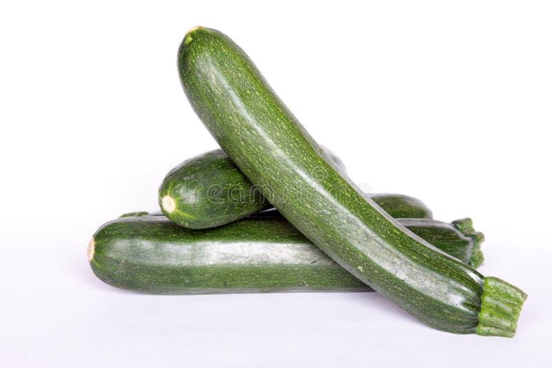 Groene Courgette stock foto's