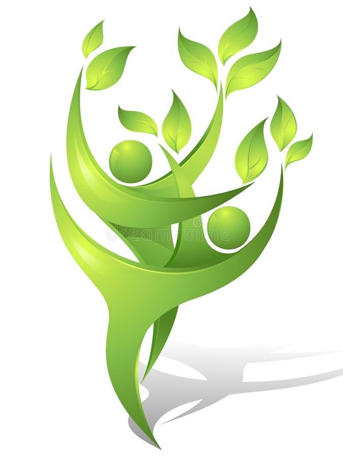 Groene dansers