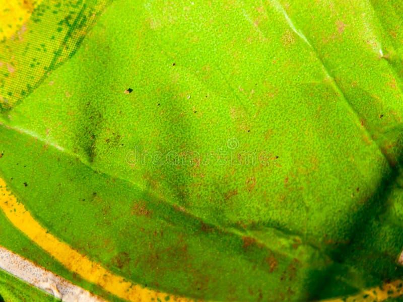 Groene de textuur van het pakketvuilnis dichte omhooggaand als achtergrond royalty-vrije stock foto's