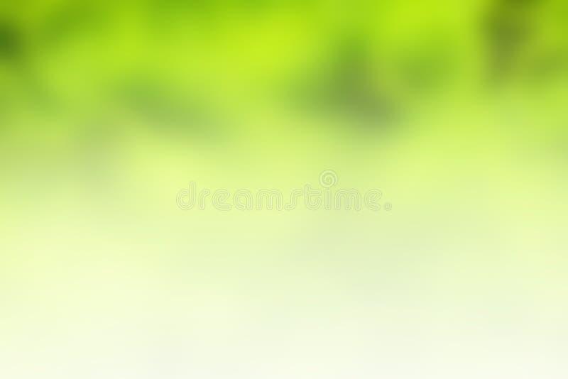 Groene de zomer vage abstracte achtergrond stock afbeeldingen