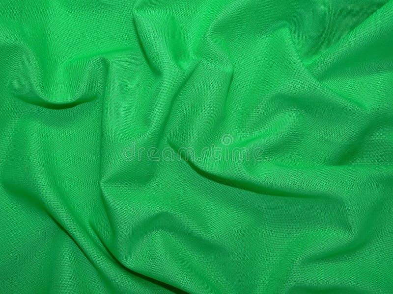 Groene doek stock afbeelding