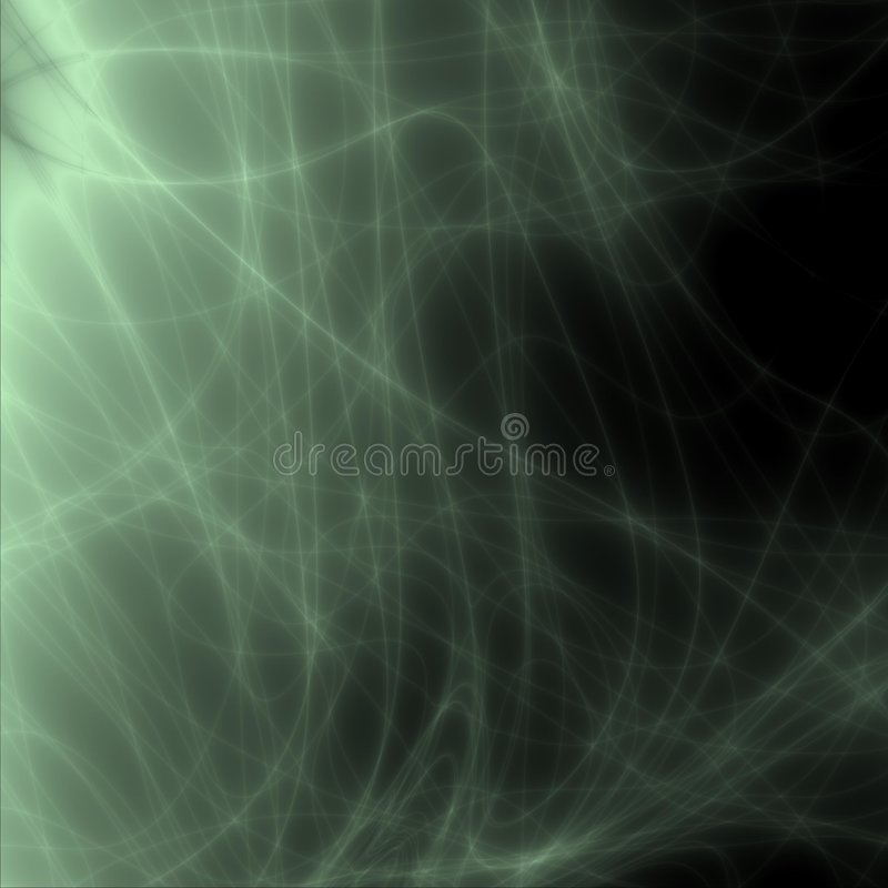 Groene dromen stock foto