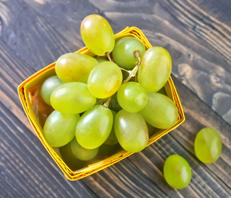 Groene druif royalty-vrije stock fotografie