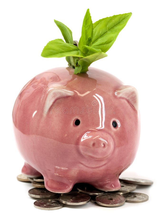 Groene economie stock foto