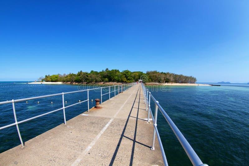 Groene Eilandsteenhopen Australië royalty-vrije stock afbeelding