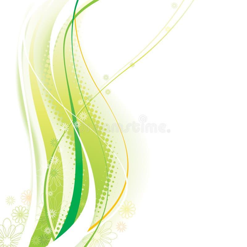 Groene Elementen vector illustratie