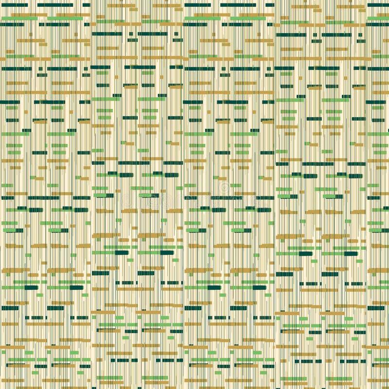Groene en Bruine Retro Achtergrond vector illustratie