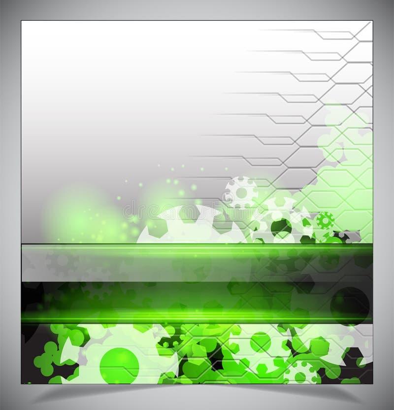 Download Groene En Witte Moderne Futuristische Achtergrond Vector Illustratie - Illustratie bestaande uit toekomst, plastiek: 39106797