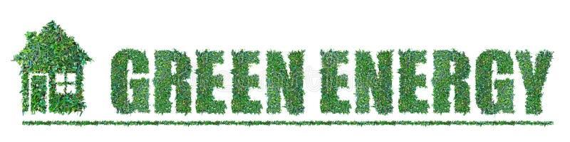 Groene Energie stock foto
