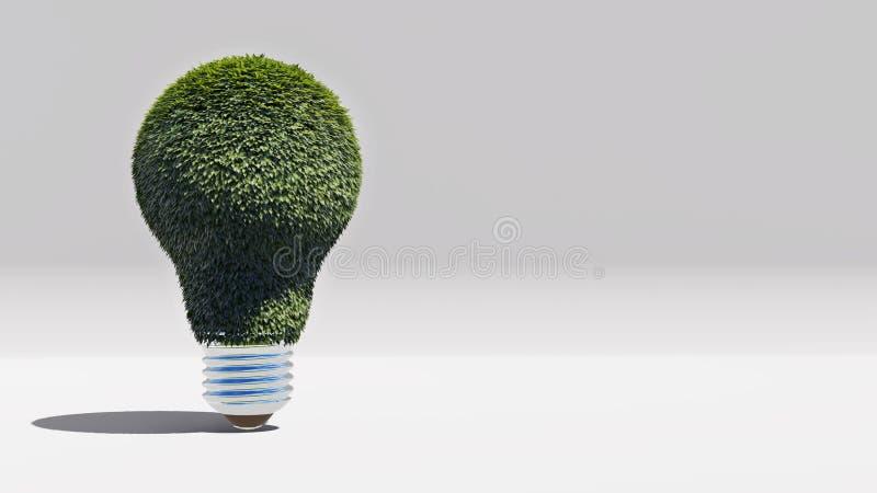 Groene energiebol royalty-vrije stock afbeeldingen