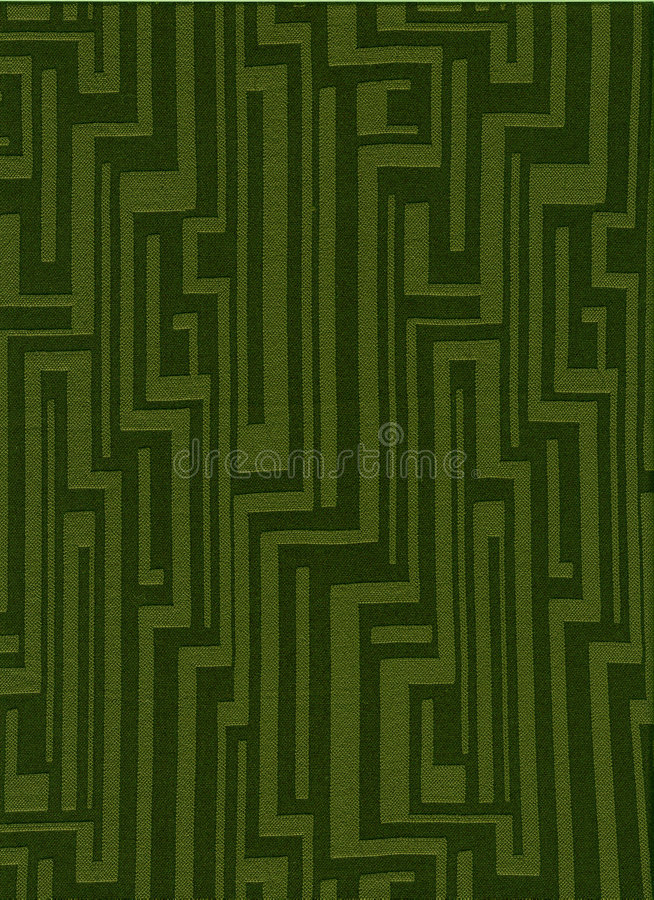 Groene funky uitstekende stof stock foto