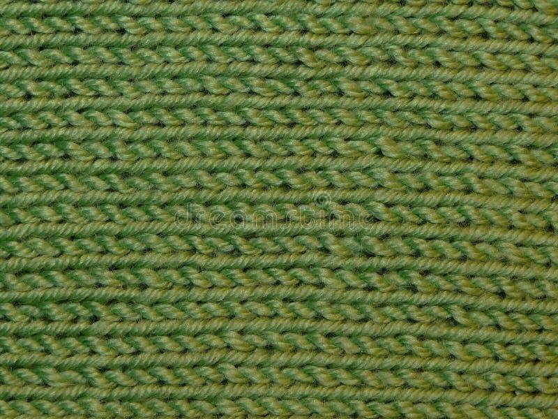 Groene gebreide stof stock afbeeldingen