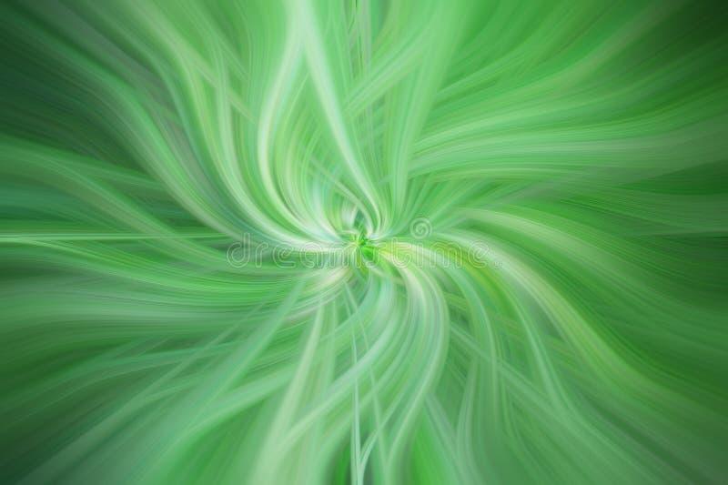Groene gekleurde abstracte patronen Conceptengezondheid royalty-vrije illustratie