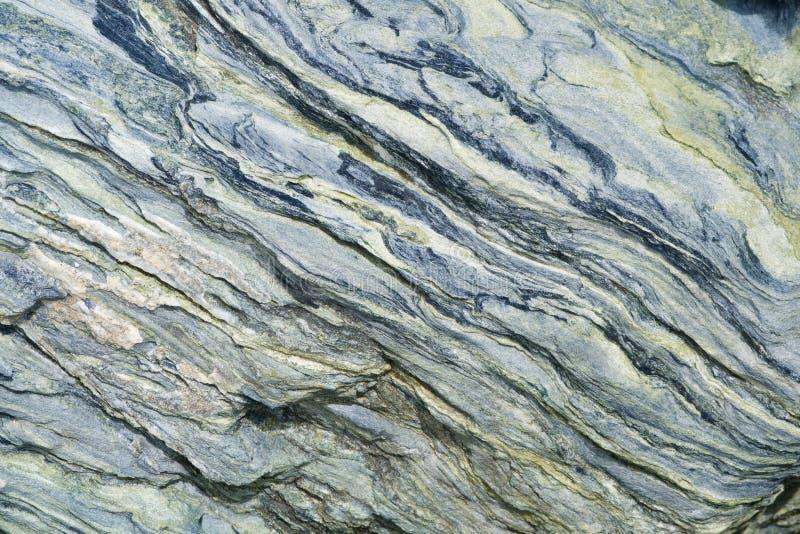 Groene gekleurde rots royalty-vrije stock foto's