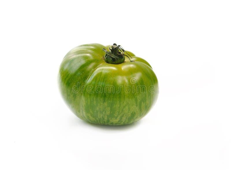 Groene gestreepte tomaat royalty-vrije stock foto's