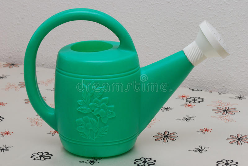 Groene Gieter stock fotografie