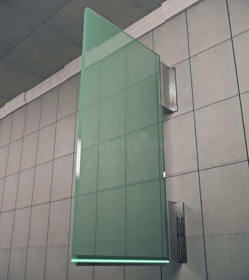 Groene glaskurk stock illustratie