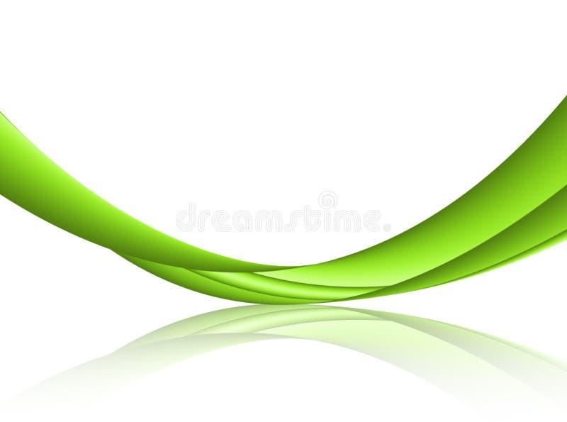 Groene golf stock illustratie