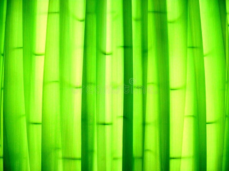 Groene gordijn of gordijntextuur voor achtergrond royalty-vrije stock foto