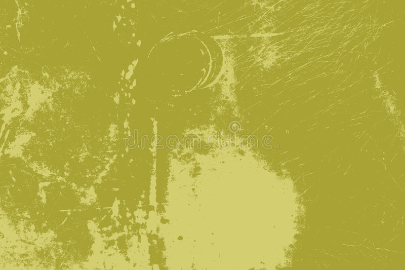 Groene grasnood royalty-vrije illustratie