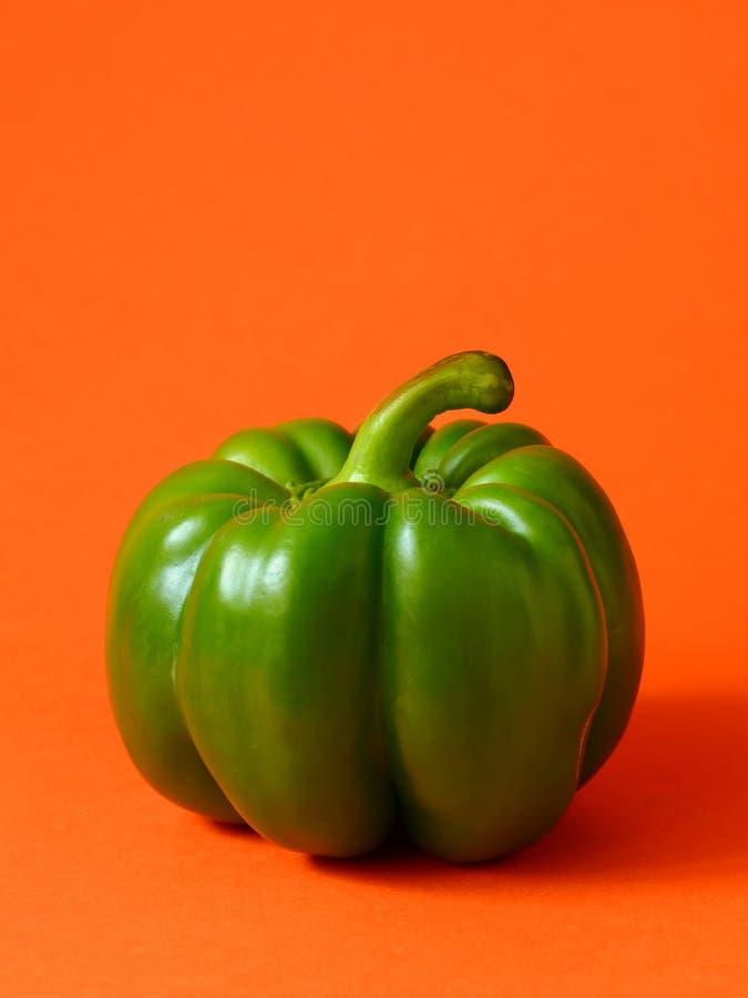 Groene Groene paprika stock afbeeldingen