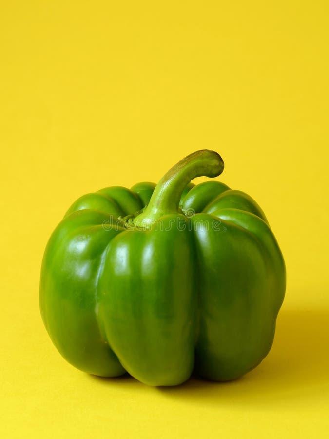 Groene Groene paprika royalty-vrije stock foto