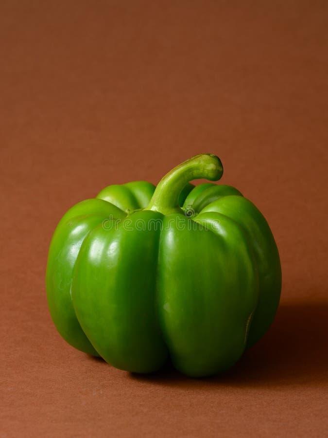 Groene Groene paprika stock foto's