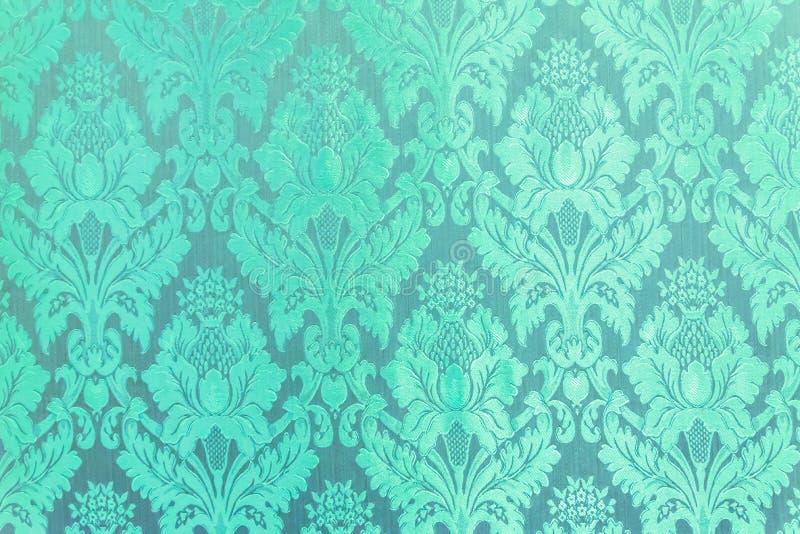 Groene het patroon van vensterlai thai stock afbeelding