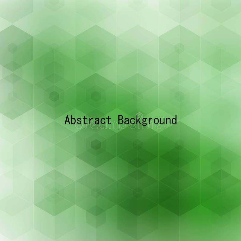 Groene hexagon achtergrond Lay-out voor reclame Eps 10 vector illustratie