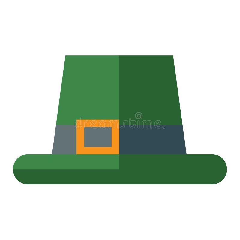 Groene hoeden vectorillustratie royalty-vrije illustratie