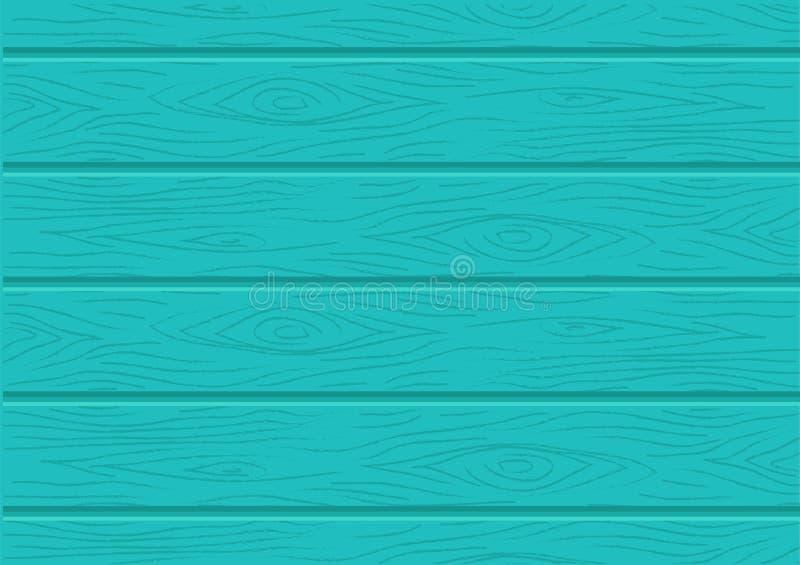 Groene houten grafische textuur vectorachtergrond vector illustratie