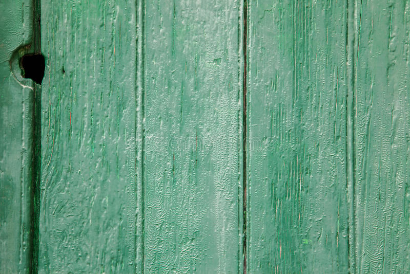 Groene houten panelen stock fotografie