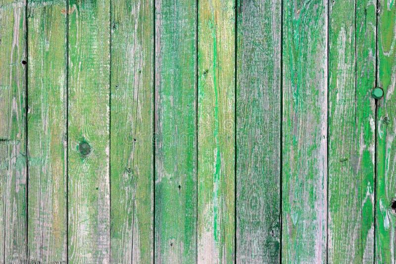Groene houten textuur stock foto's