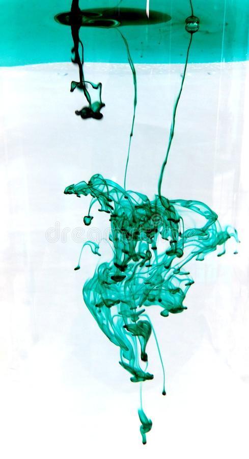 Groene Inkt stock fotografie