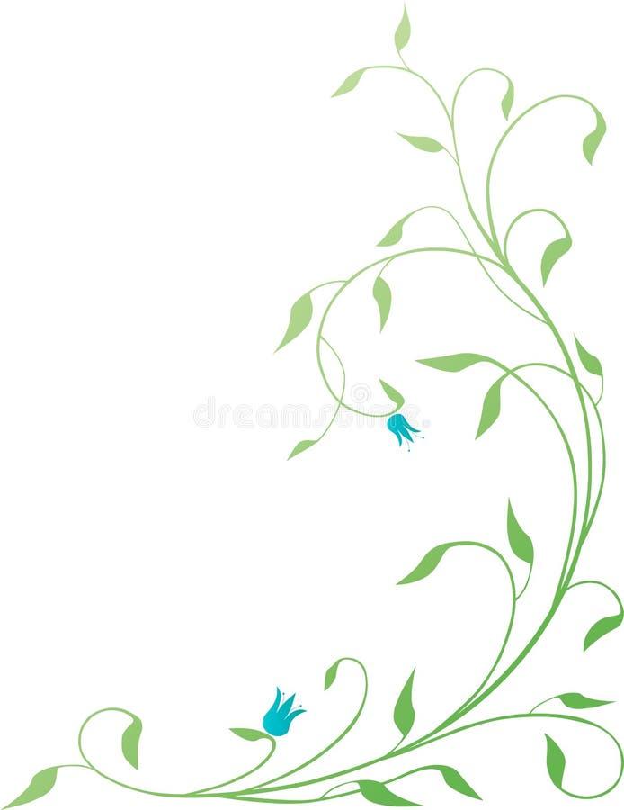 Groene installatie royalty-vrije illustratie